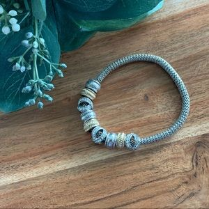 Loft Stretch Gold & Silver Bracelet - NWOT